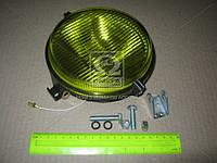 Фара противотуманная МТЗ круглая галогенная лампа (жёл. стекло) (Украина). ФПГ-119