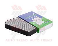 Фильтр салона CHEVROLET AVEO/AVEO 3(климат-контроль) угольный (SHIN KUM). 96449577