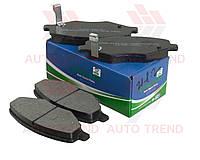 Колодки тормозные передние ZAZ FORZA/AMULET/ELARA/GREATWALL 2.5 (SHIN KUM). A11-6GN3501080