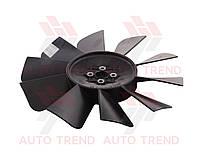 Вентилятор системы охлаждения дв.402,406(10 лопастей) (про-во ГАЗ) (ГАЗ ). 3302-1308010 ОП