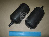 Усилители пружин задних пневмо (размер 140х80, 2-е воздушн.подушки в пружины+ 2-а отбойника) (Украина). 11-2912712