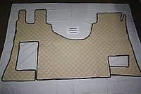 Килимки в салон Actros МП-4 бежеві з 3-х частин