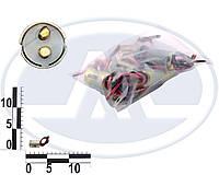 Патрон заднего фонаря ВАЗ 2104-05, 2107 двухконтактный (P21/5W BAY15s) (Китай). 9002900