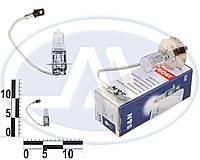 Лампа H3 12В 100Вт PК22s, с проводком в доп. фары (Китай).