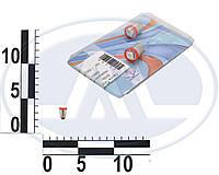 Лампа T4W 12В 0,45Вт BA9s, передних габаритов малая красная LED, комплект (Китай). 1 SMD 5050 компл