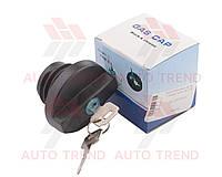 Крышка топливного бака ГАЗель, ВАЗ 2108 с ключом, нового образца (Китай ГАЗ). 2110-1103010