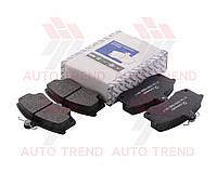 Колодки тормозные передняя ВАЗ 2110-12, без датчика износа, комплект (ПРАМО). 2110-3501080-01