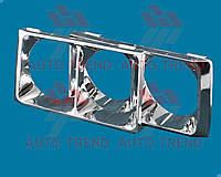 Облицовка фар (очки) ВАЗ 2106 (комплект) (Россия). 2106-8401016/17-