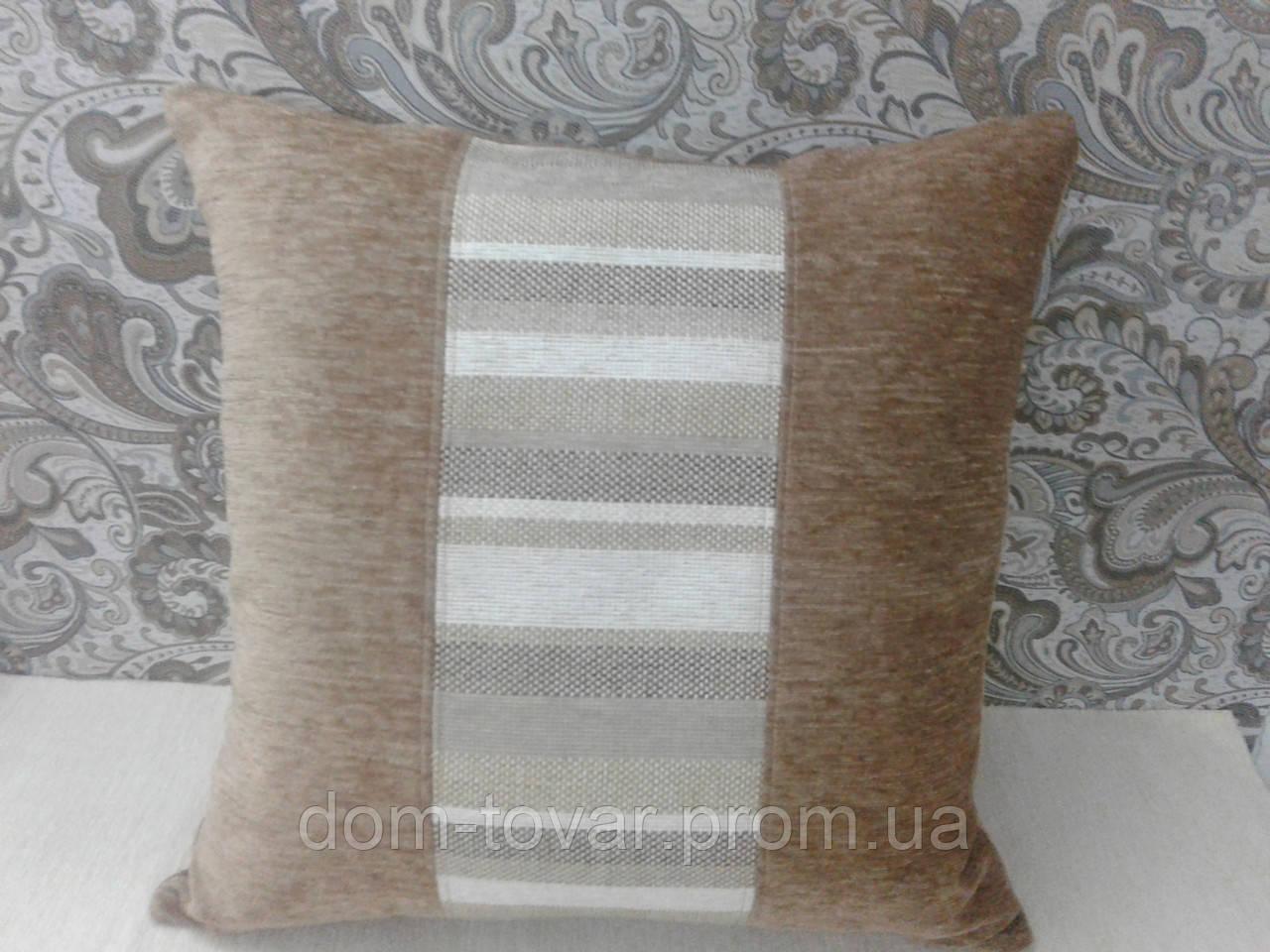 Подушка декоративная со съемным чехлом 50х50