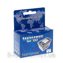 Черный картридж microjet для hp psc 1513  hp 132 black (hc-f33d)