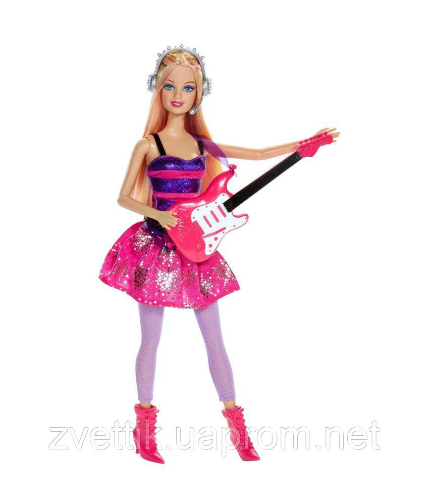 П,Кукла Barbie Careers Rock Star Doll Барби Рок Звезда  Оригинал