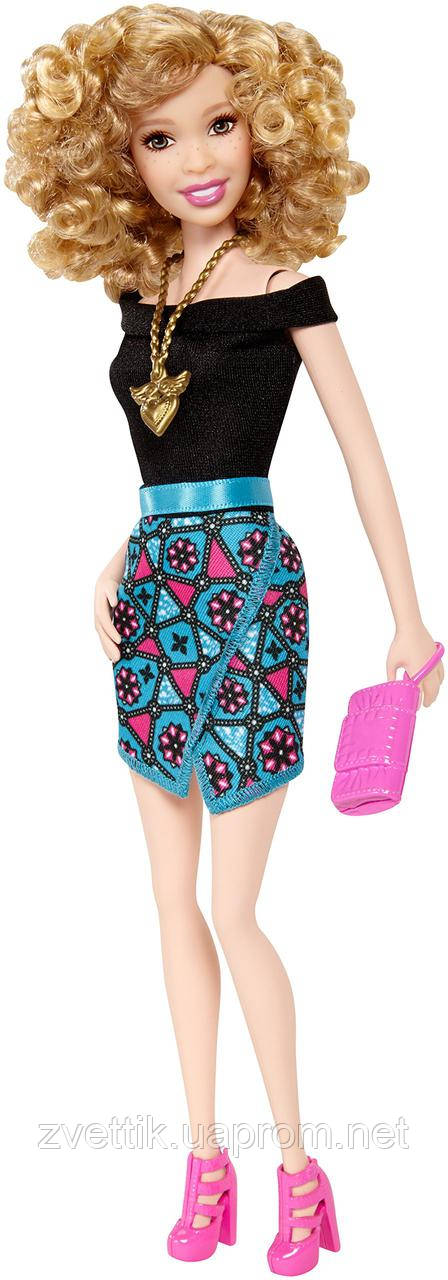 а ,Кукла Barbie Fashionistas Geometric Print Skirt Барби Фашионистас