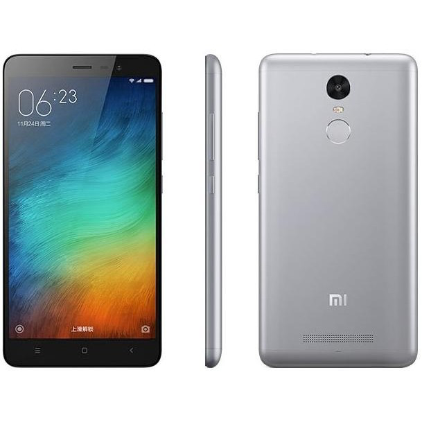 "Смартфон Xiaomi Redmi Note 4 Global 3/32Gb Grey, 8 ядер, 13/5Мп, 5.5"" IPS, 2 SIM, 4G, 4100мА"