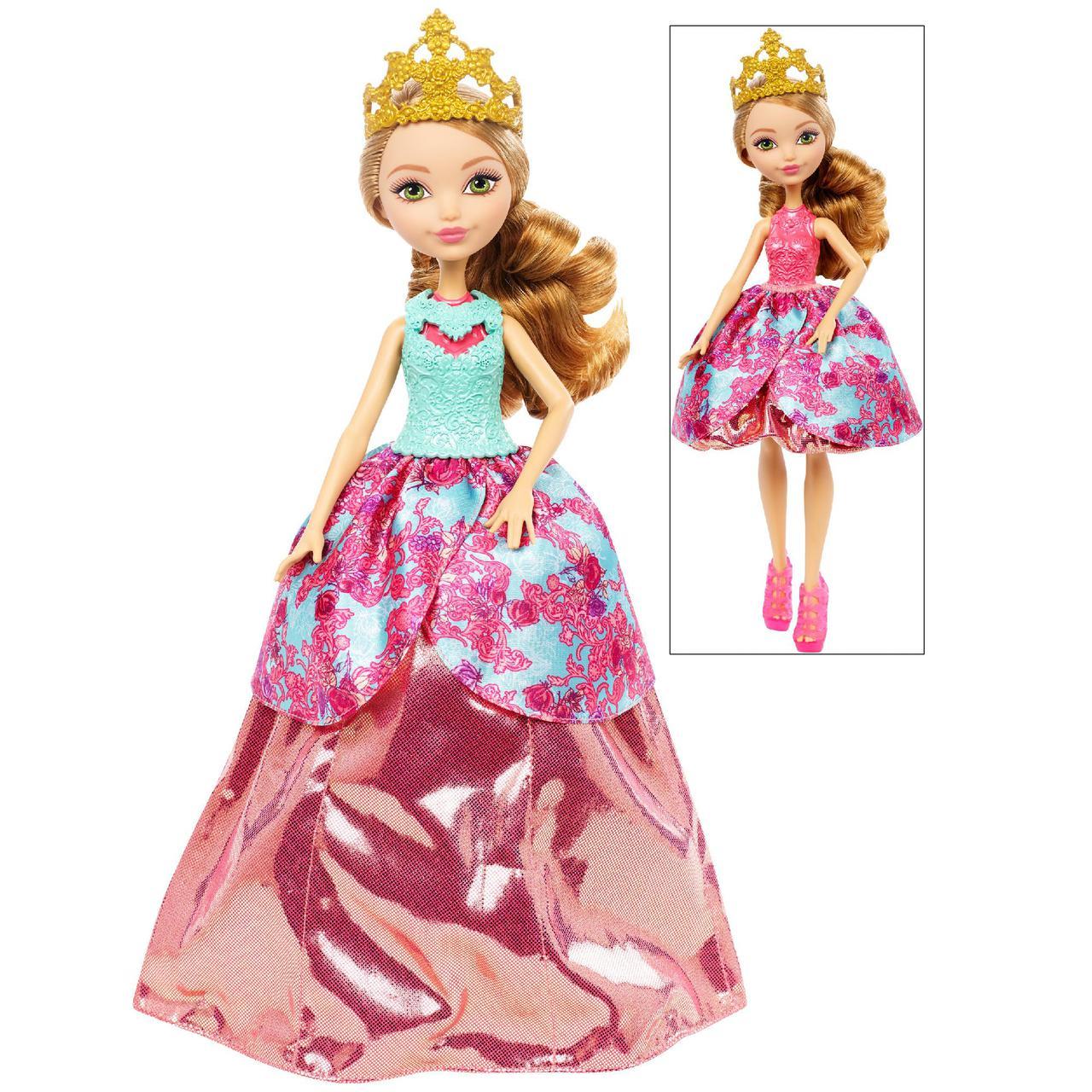а, Кукла Ever After High Ashlynn Ella 2-in-1 Эшлин Элла Волшебная мода 2-в-1