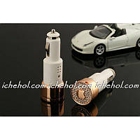 Diamond Car Charger Luxury Car Charger Adaptor with 2 USB ports Apple