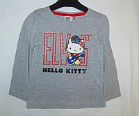 "Реглан на девочек ""HELLO KITTY"" . Размер: 3 года ( рост ребенка 98 см) ."