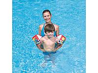 Нарукавники для плавания 23х15 см Черепашки