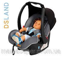 """Детская коляска """"DSLAND iZiGo"""" Автокресло (черное с серым)"""
