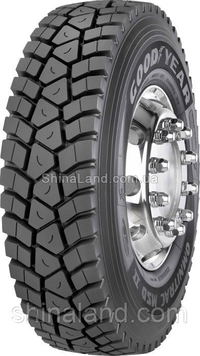 Грузовые шины GoodYear Omnitrac MSD II (ведущая) 315/80 R22,5 156/150K Люксембург