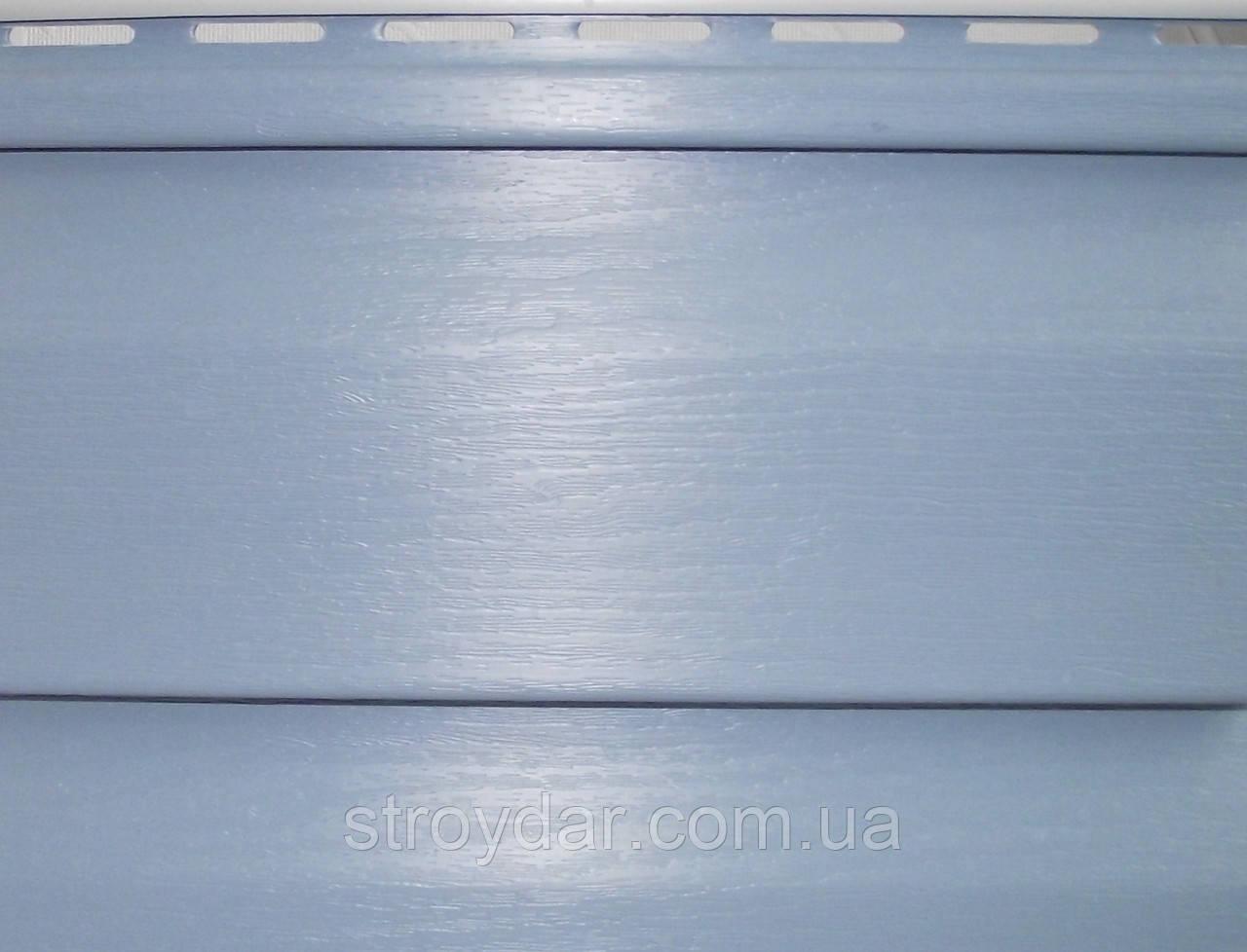 Виниловый сайдинг Альта-Профиль Серо-голубой коллекция Ангара