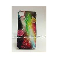 Чехол для iPhone 4 - Новогодние украшения