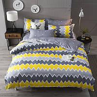 Комплект постельного белья ZigZag Pattern (двуспальный-евро) Berni
