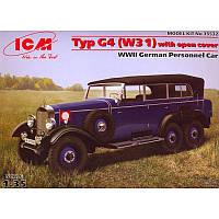Немецкий легковой автомобиль Typ G4 (W31) (код 200-107157)