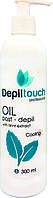 Охлаждающее масло после депиляции с экстрактом мяты Depiltouch professional 300 мл