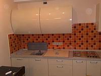 Кухня в техно-стиле.