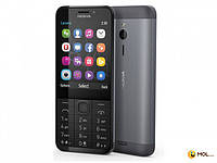 Nokia Телефон Nokia 230 2SIM Dark Silver 2.8 ' ' SD BT 2MP + 2MP 1200mAh моноблок