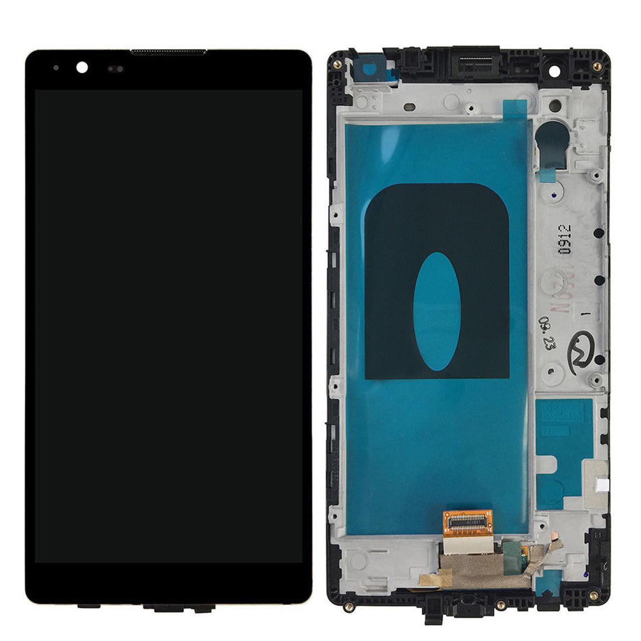 Дисплей (экран) для LG K220DS X Power с сенсором (тачскрином) и рамкой черный