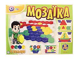 Детская мозаика, 80 деталей