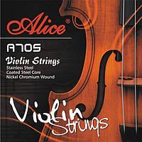 Струны для скрипки Alice A705 никель