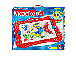 Детская мозаика, 340 деталей, 4 цвета