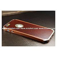 Золотой деревянный чехол-бампер Ronin для iPhone 6 plus от Element Case