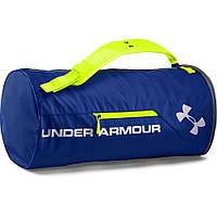 Спортивная сумка-рюкзак UNDER ARMOUR Isolate Duffel Bag т.синий\ зеленый