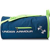Спортивная сумка-рюкзак UNDER ARMOUR Isolate Duffel Bag синий\ салатовый