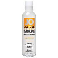 Силиконовое массажное масло JO All-in-One Sensual Massage Glide, фото 1