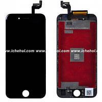 Оригинальный дисплей iPhone 6S черный (LCD экран, тачскрин, стекло в сборе)