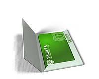Папка А4, Двухсторонняя печать, корешок 5мм (Папка А4. Мелованная бумага 350 г/м.кв) (Тираж  : 1 000 шт; )