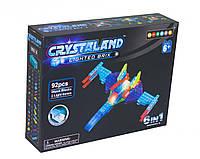 Конструктор Crystaland lighted brix Самолет 99018/9