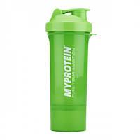 Шейкер My Protein Smart 350 ml (зеленый)