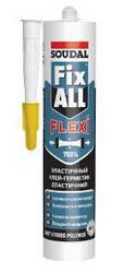 Клей-герметик FIX ALL Soudal белый, 290 мл.
