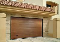 Гаражные секционные ворота для дома Алютех 3000*2500 мм