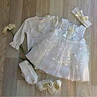 Нарядное платье для крещение Taffy