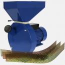 Кормоизмельчитель ДТЗ КР-02К для измельчения зерна и кукурузы в качанах,  производ. до 200 кг/час