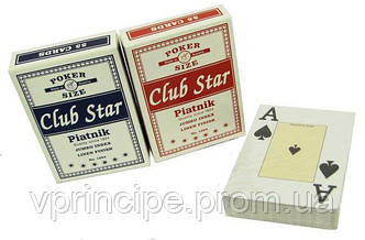 Карты игральные 1384 Club Star , 55 шт.