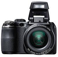 "Фотоаппарат FujiFilm FinePix S4300 Black, 1/2.3"", 14Mpx, LCD 2.3"", зум оптический 26x, HD (1280x720), SD, SDHC, SDXC, аккумулятор 4хAA, 543 г"