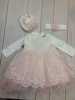 Нарядное платье для крещение Tiasis