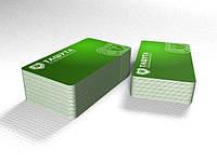 Евровизитка, 55х85мм (Мелованная бумага 250 г/м.кв) (Тираж  : 1 000 шт; )
